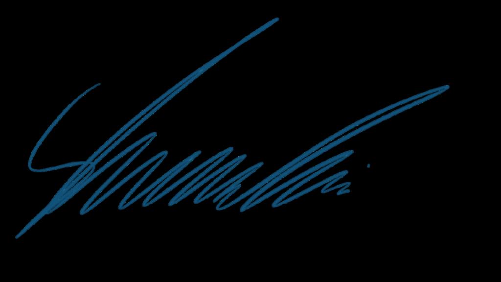Unterschrift Stefan Kosmowski